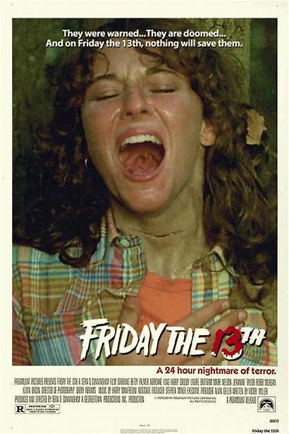 13th Friday 1980 Posters Horror Poster Movies