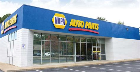 napa auto parts store   united states maps