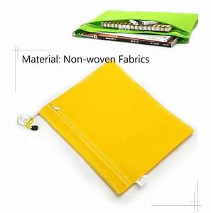 4 color non woven file holder cloth document organizer bag With cloth document holder