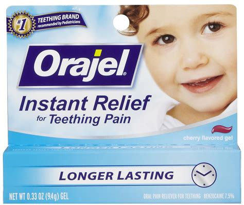 Baby Orajel Teething Pain Medicine Gel Tagsaleco