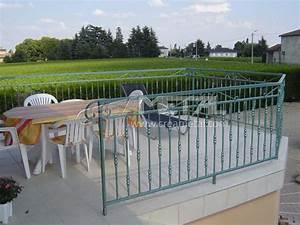 Garde Corp Terrasse : most view pict garde corps fer forg occasion trouvez le ~ Melissatoandfro.com Idées de Décoration