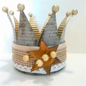 Basteln Mit Blechdosen : bildergebnis f r kronen basteln aus blechdosen bastelvorschl ge pinterest krone basteln ~ Orissabook.com Haus und Dekorationen