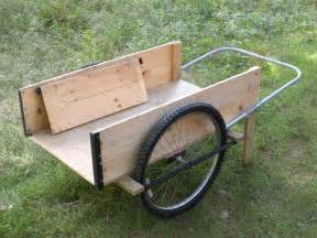 Garden Carts with Bicycle Wheels