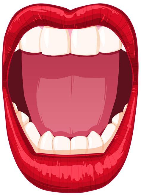 open mouth png clip art  web clipart