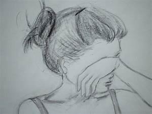 childish drawing, unsuccessful cooking: Sad... 傷心的時候