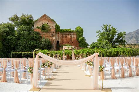 luxury wedding venues marbella fairytale spanish gardens