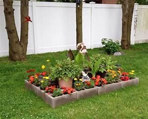 Idee Deco Jardin : bloc b ton pour la d co de jardin en 30 id es cr atives ~ Mglfilm.com Idées de Décoration
