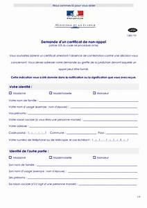 Certificat De Non Gage Gratuit à Imprimer Pdf : demande d un certificat de non appel formulaire cerfa documentissime ~ Gottalentnigeria.com Avis de Voitures
