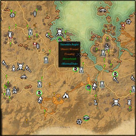 Eso Stone Falls Treasure Map 1