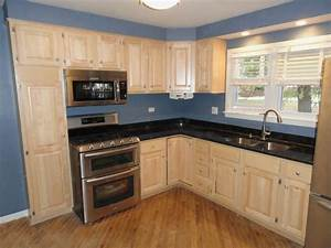 Kitchen Simple And Nice Kitchen Design With L Shaped ...