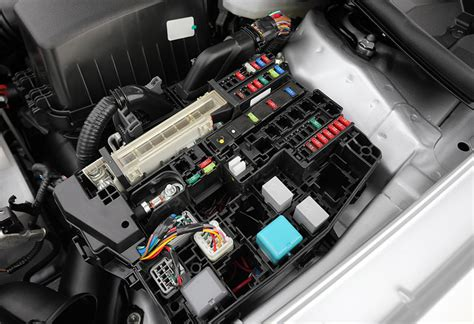 Electrical Fuse Box In Car by Functional Test Of Cable Harnesses Incl Relay Box