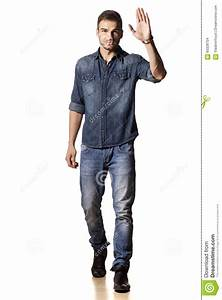 Guy Waving Hand Stock Photo - Image 60328704