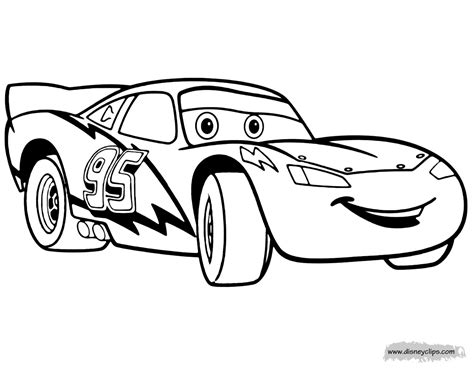 Disney Pixars Cars Coloring Pages Disney Coloring Book Car