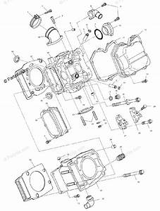 Polaris Atv 1999 Oem Parts Diagram For Cylinder A99ch50eb