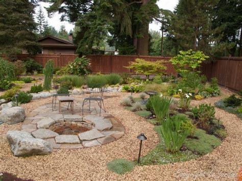 gravel patio designs pond ideas designs pea gravel landscaping ideas pea