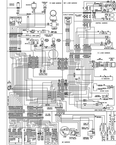 kitchenaid superba refrigerator parts diagram wow