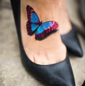 Tatouage Papillon Signification : tatouage papillon 39 belles photos pour vous inspirer ~ Melissatoandfro.com Idées de Décoration
