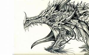 Dragon Drawings - Cliparts.co