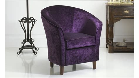 purple tub chair russkell furniture