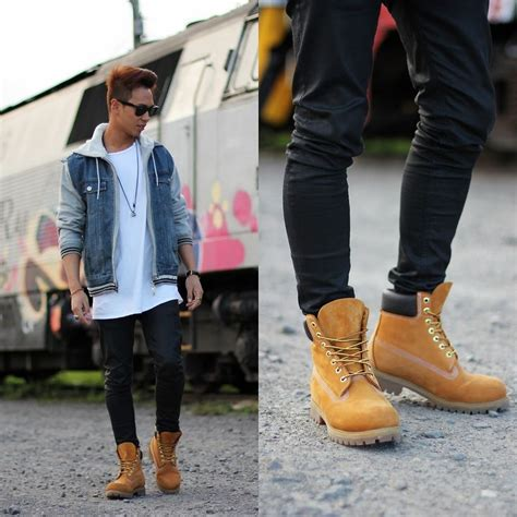 20 best Timberland Outfits images on Pinterest   Man style Men fashion and Guy fashion