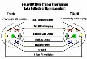 Wire Trailer Wiring Diagram 7 Prong