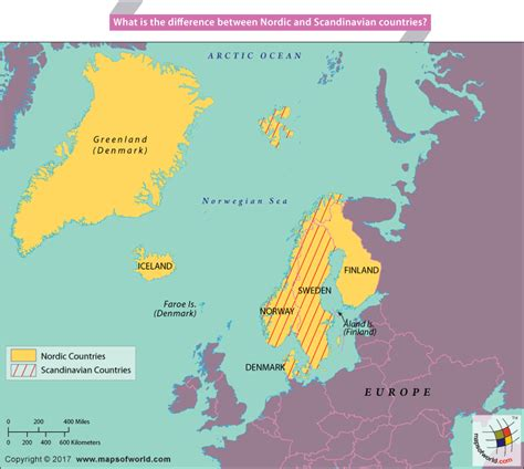 Which For The Nordic Countries Scandinavian Countries Pixshark Com Images