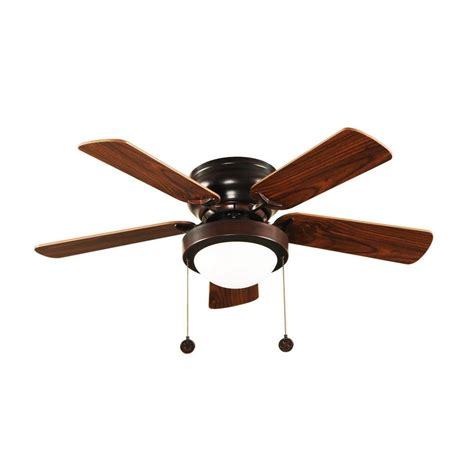 hton bay 36 in brushed nickel hugger ceiling fan with 5 reversible mdf blades and