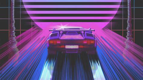80s Neon Car Wallpaper by Wallpaper 1920x1080 Car Retro 80s Neon