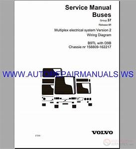Volvo B9tl Wiring Diagram Service Manual Buses