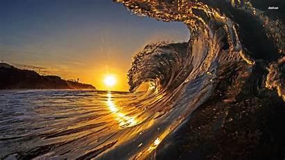 Wave Ocean Wallpapers Beach Pixelstalk