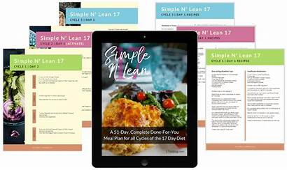 Diet Cycle Lean Meal Grocery Simple Plan