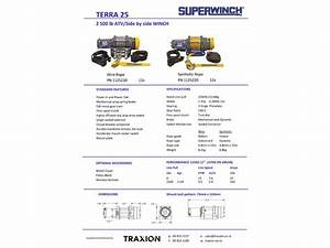 Buy Superwinch Terra - Atv Winch