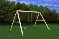 free standing swing Free Standing Swing Beam Bracket - SwingSetMall.com