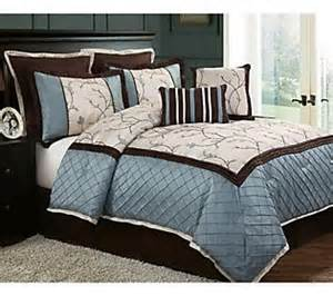 alexandria 8 piece king bedding set qvc com
