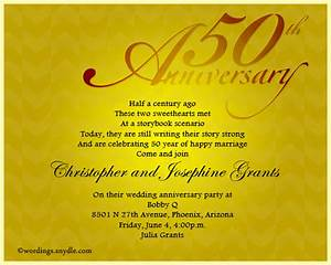 50th wedding anniversary announcement wording mini bridal With sample of golden wedding anniversary invitation