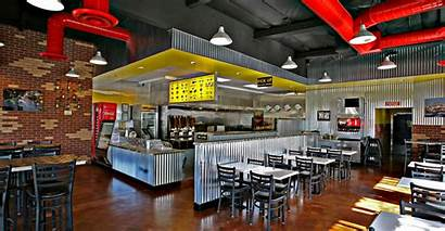 Restaurant Kebab Interior Hospitality Fast Concept Shopping