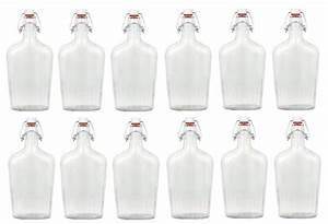 Glas Mit Bügelverschluss : 12er set glasflasche fiaschetta mit b gelverschluss 0 5 liter glas flaschen ~ Eleganceandgraceweddings.com Haus und Dekorationen