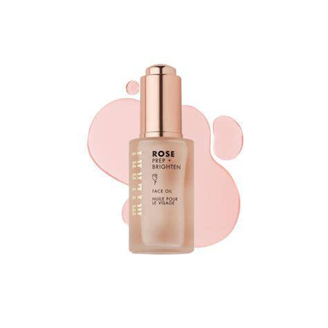 prep brighten rose oil face milani milani cosmetics
