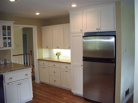 kitchen cabinet refrigerators cabinets  built deeper