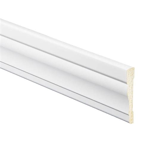 door trim lowes shop 3 25 in x 8 ft interior prefinished polystyrene