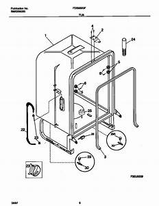 Frigidaire Dishwasher Wiring Diagram Parts