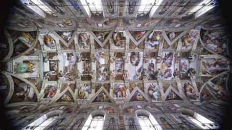 le plafond de la chapelle sixtine pourquoi michel ange a t il peint le plafond de la chapelle sixtine