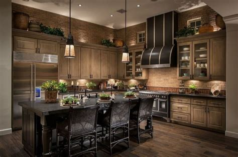Elegant Kitchens Without Windows Pictures