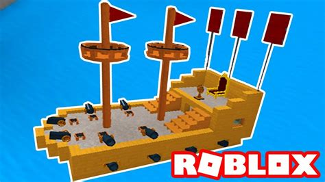 How To Build A Boat Roblox roblox construindo navios build a boat for treasure