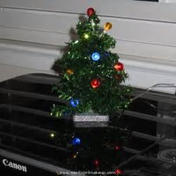 nerdy girl makeup 187 blog archive 187 multi color led usb powered mini christmas tree