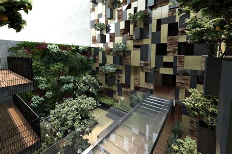 Appartments In The City by Goldsmith Apartment Building Mexico City Polanco