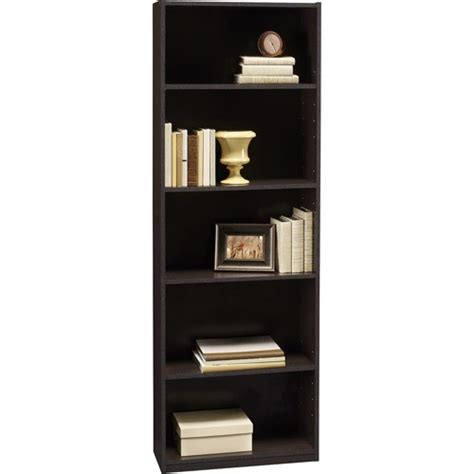 ameriwood  shelf wood bookcases choice multiple finishes