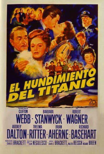 carteles de la pel 237 cula el hundimiento titanic el
