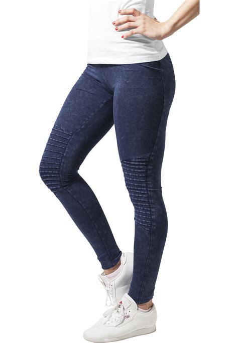 urban classics ladies denim jersey damen leggings