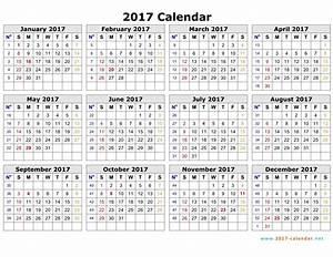 2017 printable calendar word weekly calendar template With 2017 word calendars